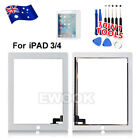 OZ Digitizer Glass Screen Replacement For Apple New iPad 3 4 Repair Kit White
