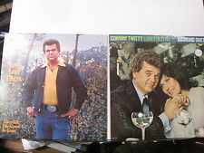 Conway Twitty-Now & Then/Diamond Duet(with Loretta Lynn)- 2 Lps - Free UK Post