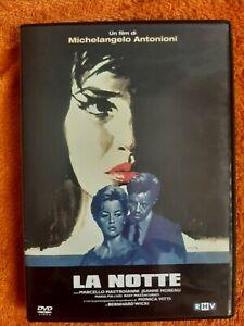 La notte (1961) DVD fuori catalogo raro Antonioni Mastroianni Vitti Moreau