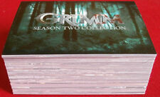 GRIMM - Season 2 - COMPLETE BASE SET, (72 CARDS) - Breygent Marketing