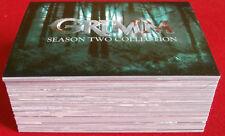 GRIMM - Season 2 - COMPLETE BASE SET, (72 CARDS) - Breygent Marketing