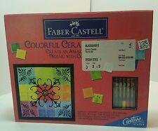 New Faber Castell Colorful Ceramic Tile Art Set Creative Studio