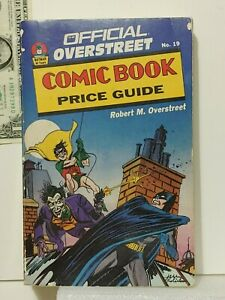 Overstreet Price Guide #19 Batman 50th anniversary cover published in 1989 (yb82