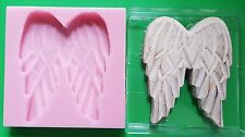 LARGE ANGEL WINGS SILICONE MOULD FOR CAKE TOPPERS, CLAY ETC