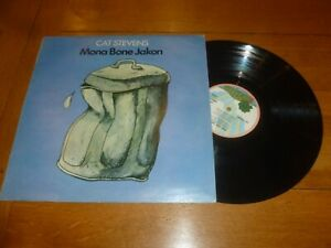 CAT STEVENS - Mona Bone Jakon - 1970 UK 11-track LP on the pink Island label