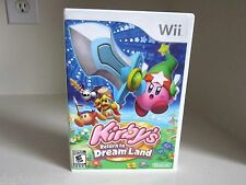 Kirby's Return to Dream Land Wii Complete LikeNew.