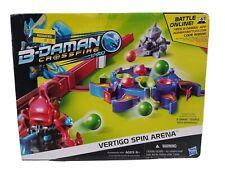 NOS B-Daman Crossfire Vertigo Spin Arena Set with 6 Marbles and Collector Card