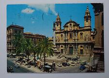 Schöne alte Ansichtskarte AK - Italien Palermo Piazza S. Domenico Dominikus