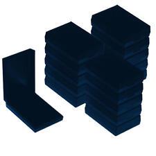 20x Gift Jewellery Box Storage Presentation Earrings Necklace Blue w Foam Pads