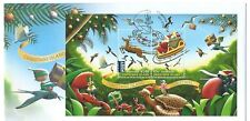 AUSTRALIA 2016 CHRISTMAS ISLAND CHRISTMAS MINIATURE SHEET FIRST DAY COVER