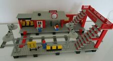 Lego 7822-TRAIN-Railway Station/La Gare - 1980-avec Obadiah-RARE-Rar!