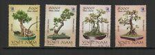 Vietnam 2004 arbres bonsaïs vietnamiens série de 4 timbres oblitérés /TR8432