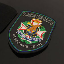 Australia - QLD Police Explosive Ordnance Response Team Rubber Style Patch
