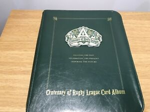 2008 CENTENARY OF RUGBY LEAGUE CARD ALBUM