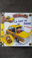 coffret le taxi de Rémi ,p'tit garçon Fleurus, livre, coloriage ,poster ,ballon