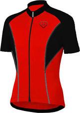 Abbiglimento sportivo da uomo rossi con mezza manica