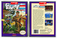G.I. Joe: The Atlantis Factor - Nintendo NES Custom Case *NO GAME*