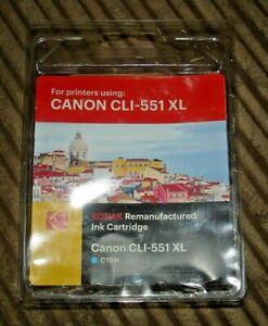 Kodak Canon CLI-551 XL Cyan Remanufactured Ink Cartridge