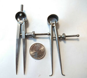 Vintage L.S. Starrett Small Calipers