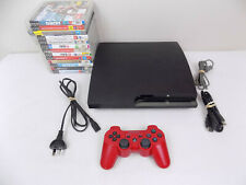 Like New Ps3 Playstation 3 Slim Console CECH-2102A 120 Gb Bundle + 20 Games