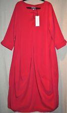 "SAHARA 4 Red Bubble Dress 48""Bust Long Balloon DIVINE ELEGANCE BNWT pp£189"