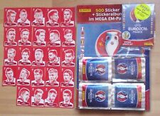 Panini Fußball EM 2016 France  Mega EM Paket + Update-Set + 24 Sticker Coca Cola