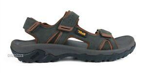 Teva Katavi 2 Sandal Black Olive Leather Sandals Mens Size 14 *NEW*
