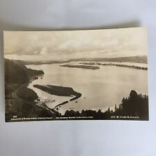Columbia River Crown Point Highway Oregon RPPC Real Photo Unposted Postcard
