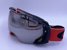 Oakley AIRBRAKE 59-671 SHAWN WHITE RED/ BLACK IRIDIUM SNOW SKI GOGGLES AUTHENTIC