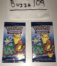 SEALED (x2) McDonald's Happy Meal Pack Pokemon Card White Box #1 Lot Pikachu Art