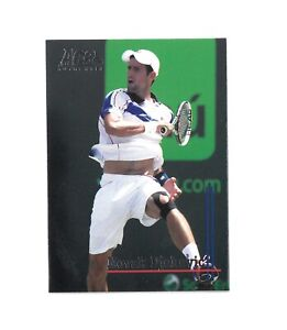 2011 ACE Authentic Match Point 2 Tennis NOVAK DJOKOVIC Base Card #79 Sarbia