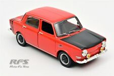 Simca 1000 Rallye I Bj. 1971 rot red schwarz black 1:18 Norev 185700 NEU