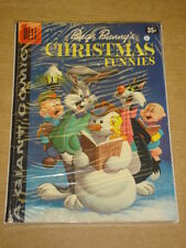DELL GIANT COMICS #9 VG (4.0) BUGS BUNNY'S CHRISTMAS FUNNIES DECEMBER 1958