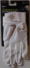 Nike Men's Huarache Elite Batting Gloves Color White/Chrome Size L New