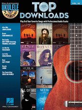 """Top Downloads Ukulele Play-Along Volume 32"" MUSIC BOOK/CD-BRAND NEW ON SALE!!"