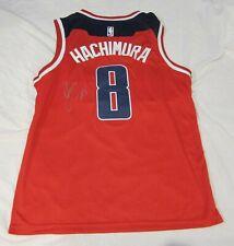 2019 Rui Hachimura Signed Washington Wizards Basketball Jersey W/Proof Nba Japan