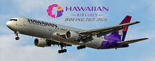 Hawaiian Airlines Boeing 767 Handmade Photo Magnet (PMT1533)