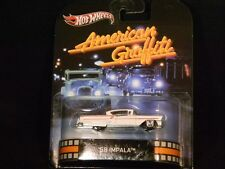 2013 HOT WHEELS RETRO TV SERIES AMERICAN GRAFFITI '58 IMPALA HOTWHEELS CHEVY WH