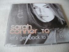 SARAH CONNOR - LET'S GET BACK TO BED BOY - UK CD SINGLE