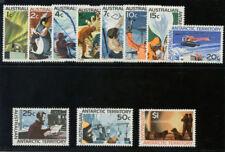 Australia Antarctic Territory 1966 QEII Definitive set complete MNH. SG 8-18.