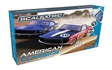 Scalextric C1362 Arc One American Classics Slot Car Set Camaro VS Mustang 1 32