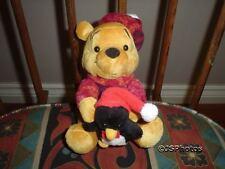 "Winnie The Pooh & Baby Penguin 6"" Walt Disney Store"