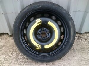 Audi TT Mk1, Space saver spare wheel125/70/18 Continental tyre, 5x100,
