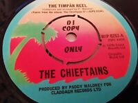 """THE CHIEFTAINS * THE TIMPAN REEL * 7"""" ISLAND SINGLE DJ COPY EXCELLENT (WIP 6257)"""