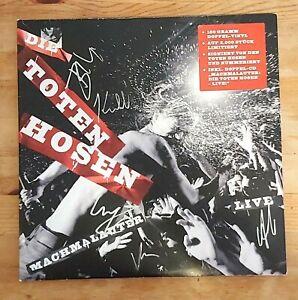 Die Toten Hosen – Machmalauter-Live- 2-Vinyl - LP - RAR -Lim. Auf.! Auktion!