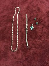 collection Lot .925 Sterling silver jewelry