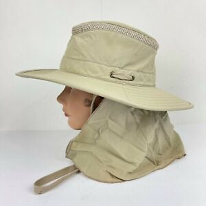 TILLEY ENDURABLES LTM6 Airflo IS Hat - Khaki/Olive Size 7 1/2 Hand Made canada