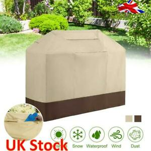 Large BBQ Grill Cover Barbecue Waterproof Protector Heavy Dust Garden Outdoor UK