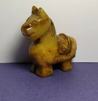 Jade Hand Carved Horse Statue