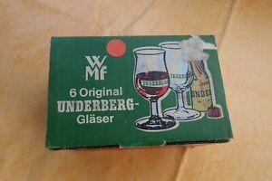 Underberg 6 Gläser im Original Karton